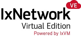 IxNetwork Virtual Edition - powered by IxVM
