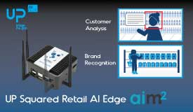 Aaeon UP Squared AI Edge Retail Suite by AIM2